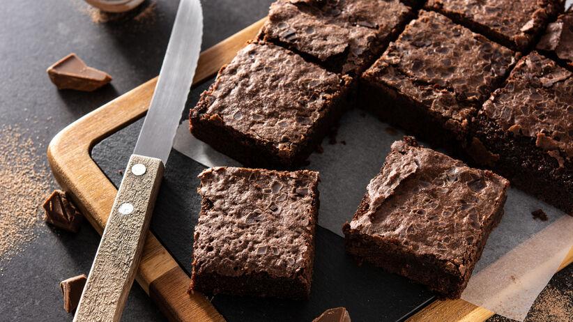 brownie z patelni