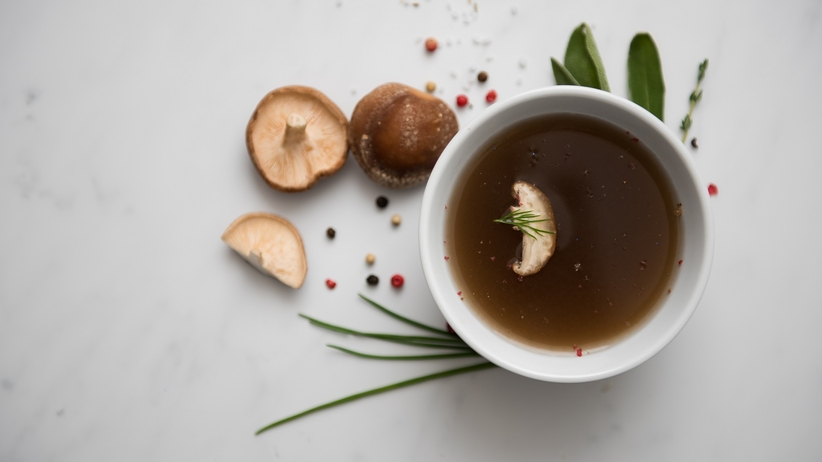 Consomme grzybowe