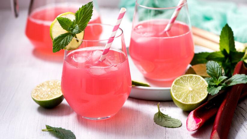 Lemoniada z rabarbaru - przepis
