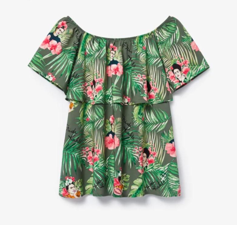 Bluzka z egzotycznym printem z PEPCO