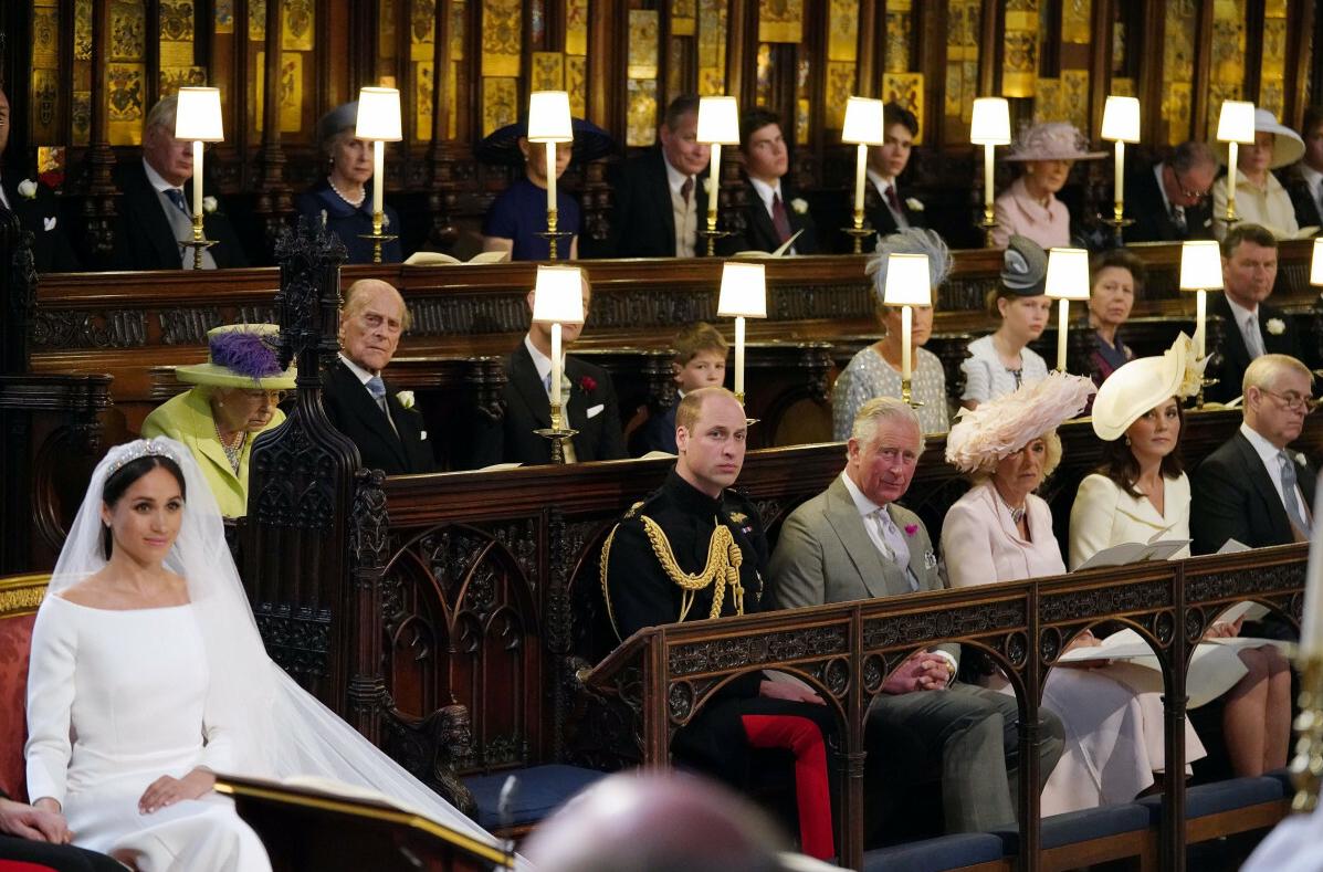 Meghan Markle i książę Harry ślub