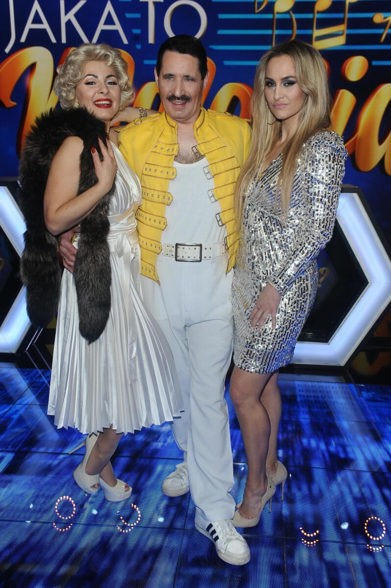 Sobowtóry Jennifer Lopez, Freddiego Mercury'ego i Marilyn Monroe