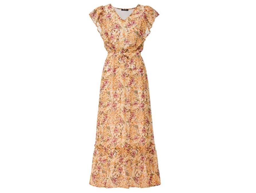 Sukienka boho z Lidla