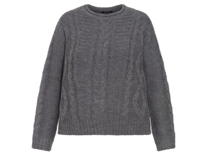 Szary sweter z Lidla
