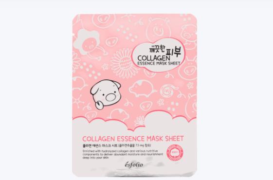 Ujędrniająca maska z kolagenem
