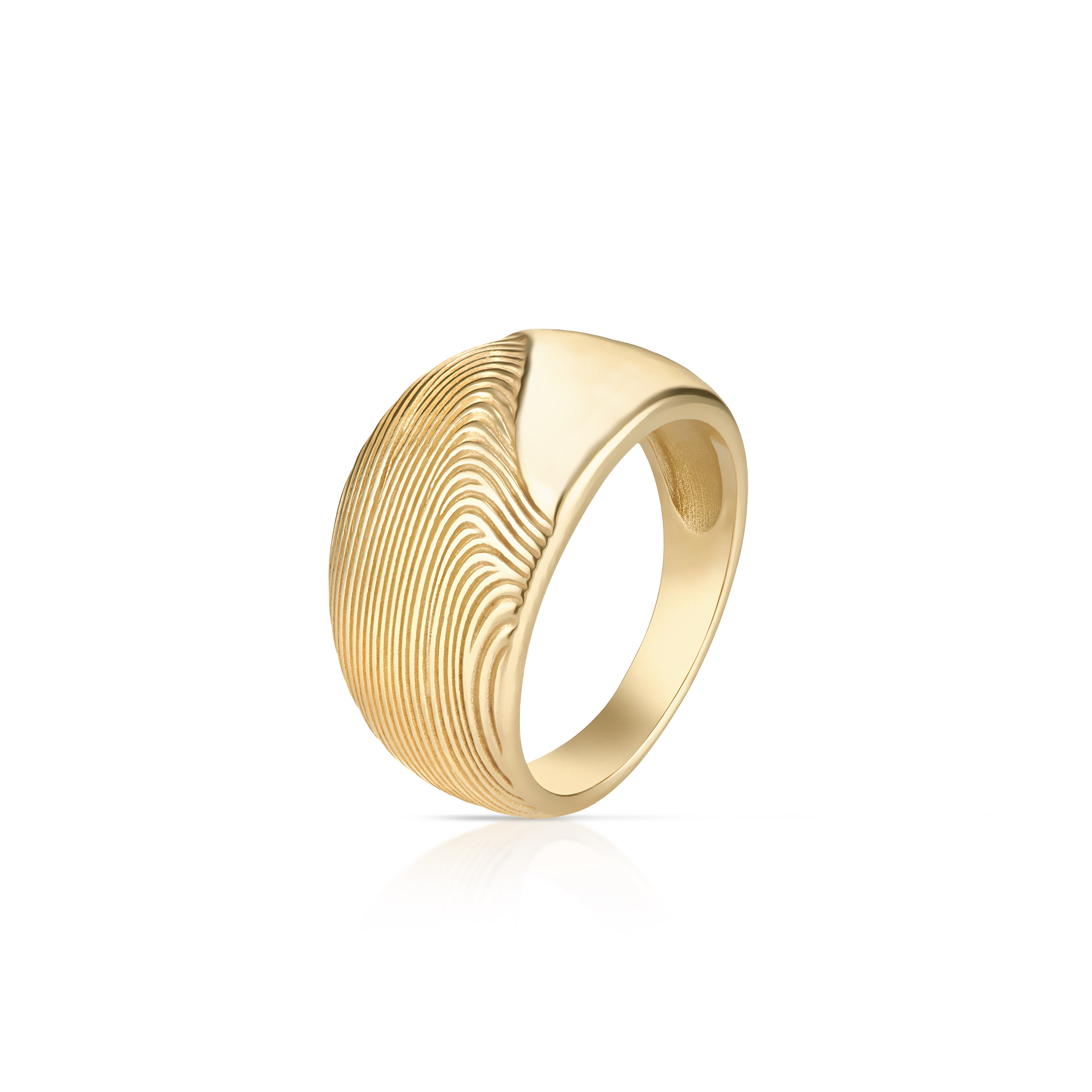 W.KRUK pierścionek MEA, srebro złocone, cena 299 zł