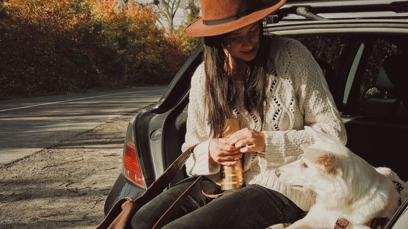 Trendy jesień 2021: elegancki sweter z koralikami na wyprzedaży w H&M