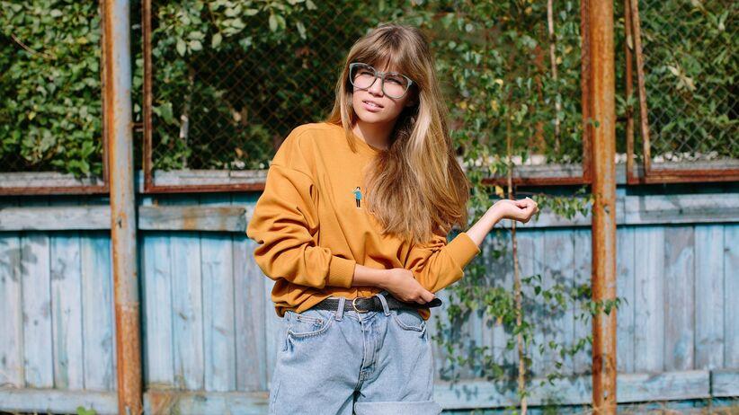 Modna bluza na jesień