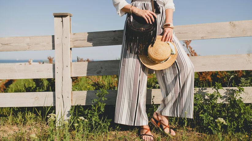 modne spodnie z lidla