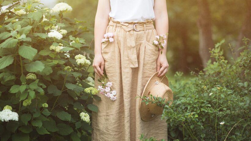 Modna spódnica na lato