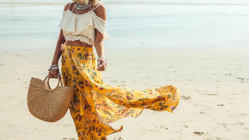 Trendy lato 2021: spódnica maxi z Lidla za 34,99 zł w dwóch wersjach
