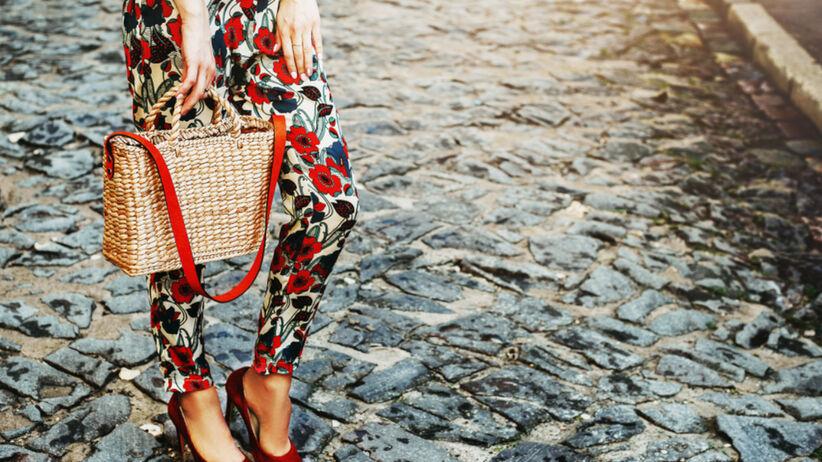 Spodnie z modnym printem na lato w Lidlu