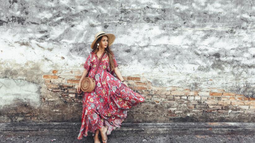 Modna sukienka boho na lato z Lidla za 59,90 zł