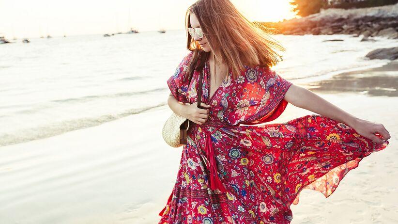 Sukienka maxi na lato
