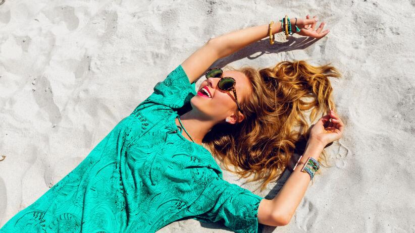 Tunika idealna na lato z Lidla na plażę i na miasto