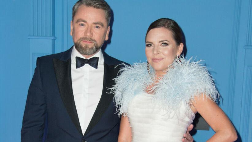 Kwaśniewska i Badach na zdjęciu ślubnym sprzed lat. Muzyk najlepiej je podsumował