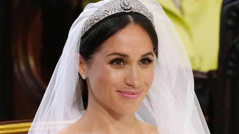 Meghan Markle na ślubie z Harrym oddała hołd królowej Elżbiecie