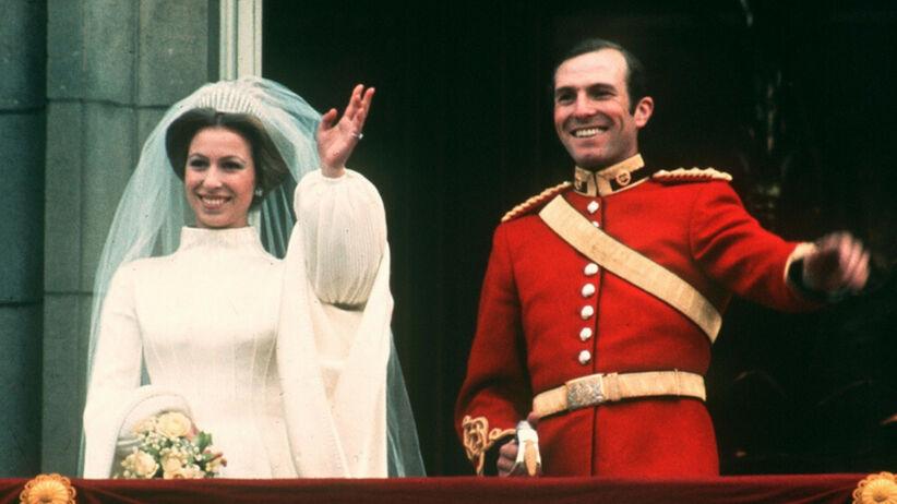 Skandal na ślubie w rodzinie królewskiej: księżniczka Anna zaliczyła wpadkę