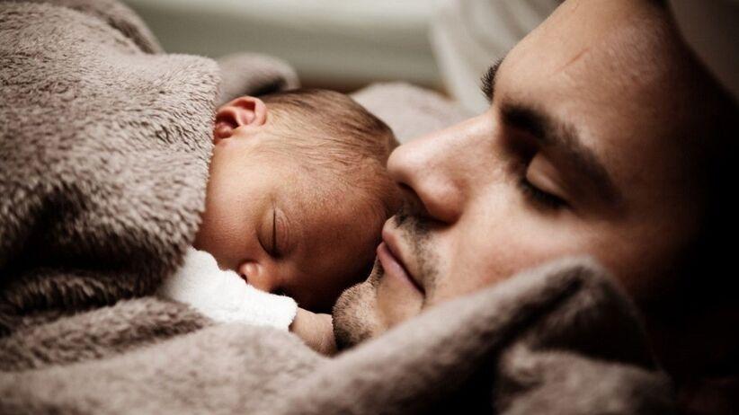Mężczyzna i dziecko