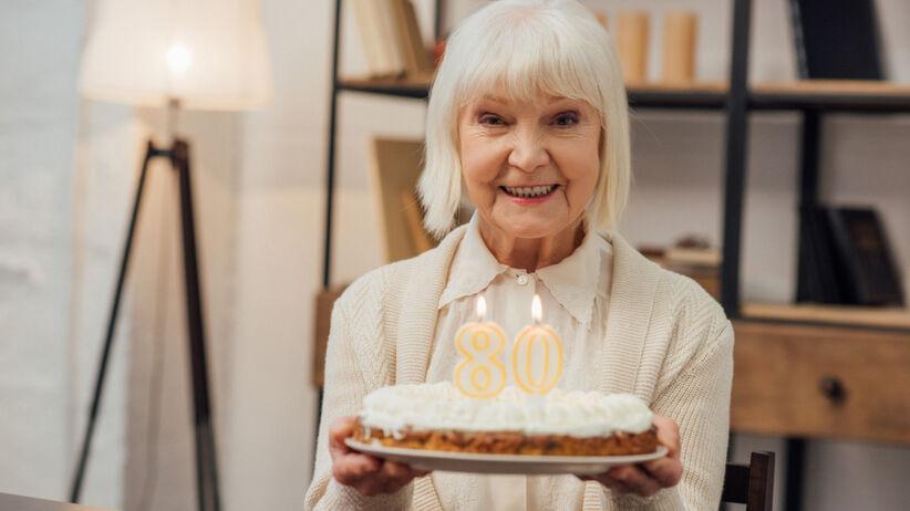 Życzenia na 80. urodziny